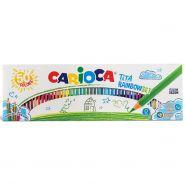 Набор цветных карандашей Carioca Tita Rainbowset, 50 цветов