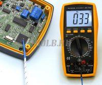 АМ-1083 АКТАКОМ Мультиметр цифровой - измерение температуры фото