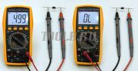 АМ-1083 АКТАКОМ Мультиметр цифровой - тест диода фото
