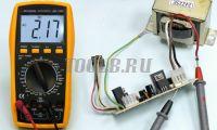 АМ-1083 АКТАКОМ Мультиметр цифровой - измерение переменного тока фото