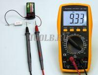 АМ-1083 АКТАКОМ Мультиметр цифровой - измерение постоянного тока фото