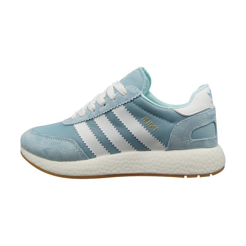 Кроссовки Adidas Iniki голубые