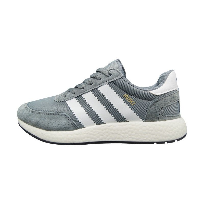 Кроссовки Adidas Iniki серые