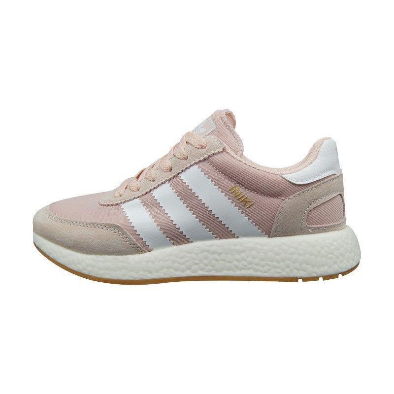Кроссовки Adidas Iniki розовые