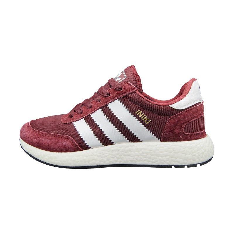 Кроссовки Adidas Iniki красные