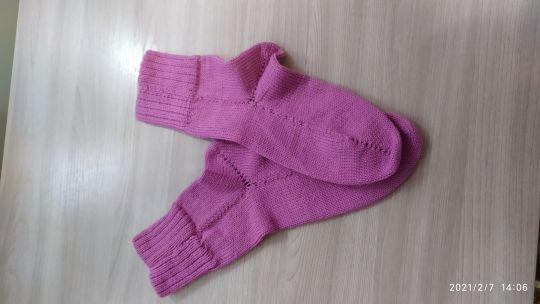 Носочки женские теплые