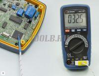 АММ-1032 Мультиметр цифровой - Измерение температуры фото