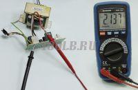 АММ-1032 Мультиметр цифровой - Измерение переменного тока фото