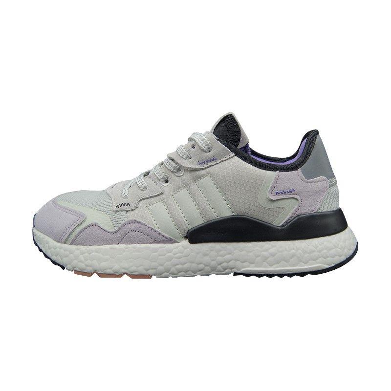 Кроссовки Adidas Nite Jogger Gray серые