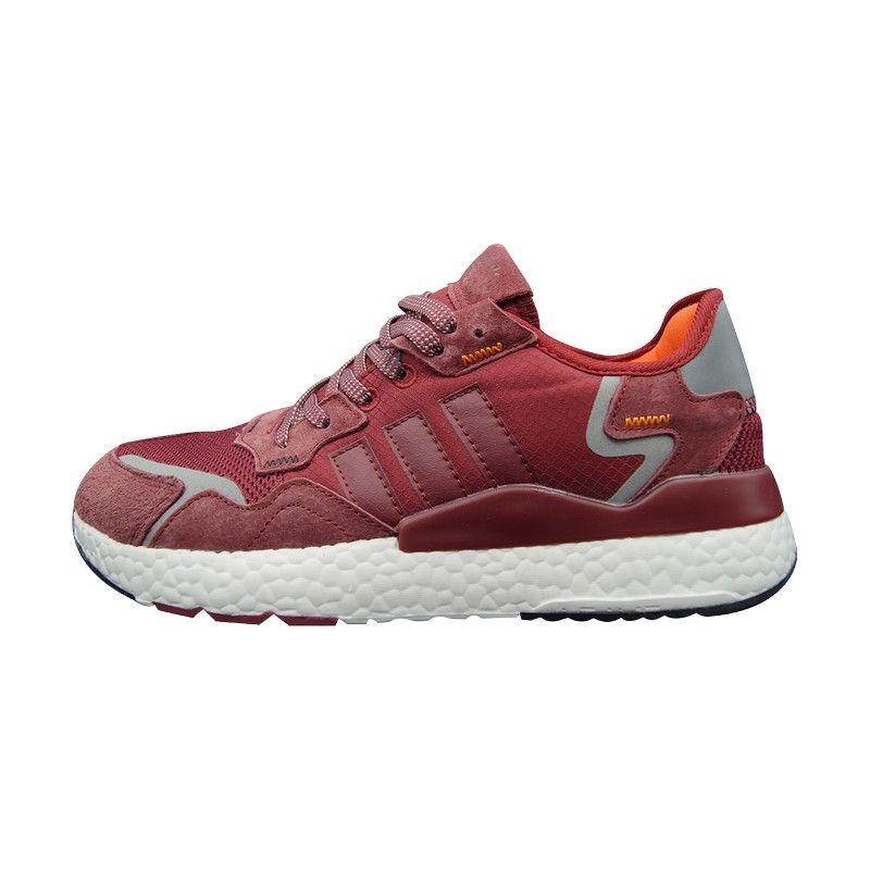 Кроссовки Adidas Nite Jogger красные