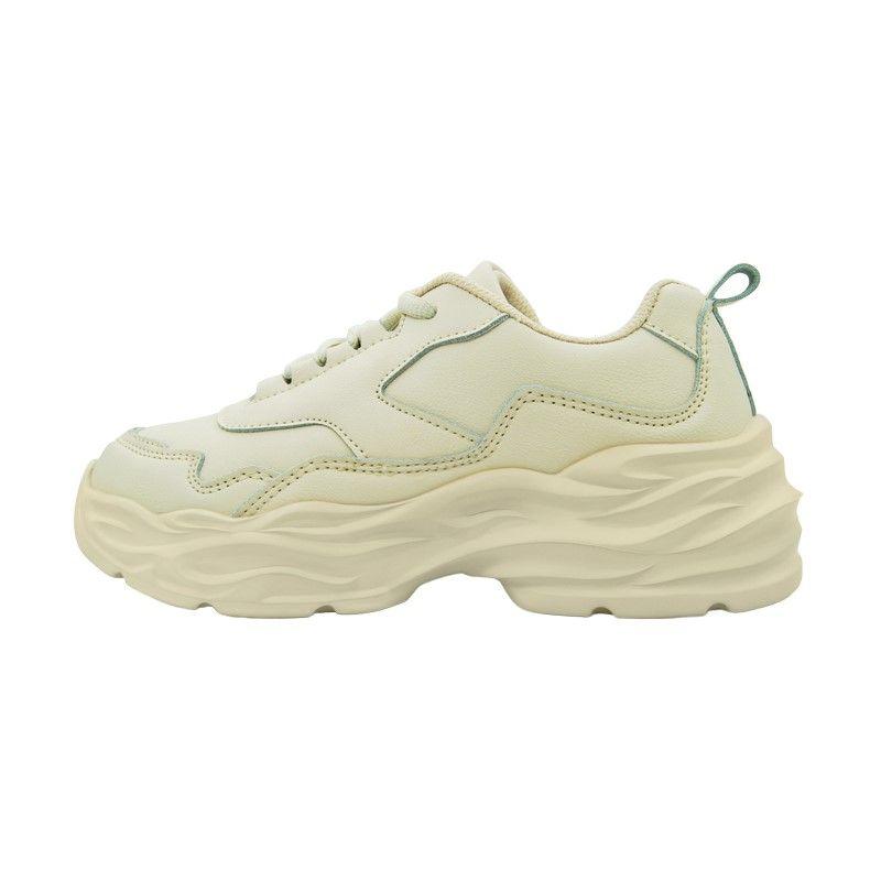 Кроссовки Zheng Factory OCDA бежевые