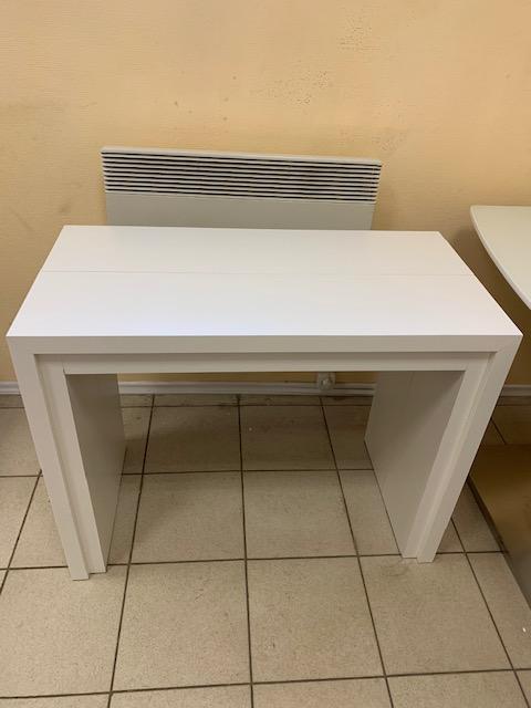 Стол консоль-трансформер B2307-6 Белый дуб