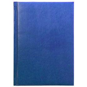 Ежедневник PROFY , недатир., ф.А5, кожзам, лин.,ляссе,336с., синий