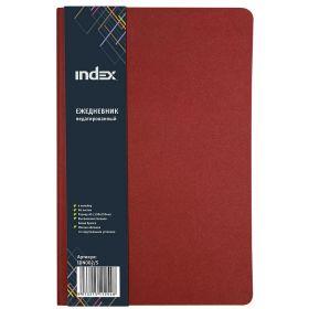 Ежедневник с мягкой обложкой, для записей, красный,лин.,недатиров.,192с.,разм.130*210мм