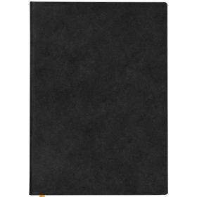 Ежедневник Colourplay недатиров, ф. А6+, кожзам, лин, ляссе, 256с, жёлтый срез, чёрный