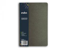 Ежедневник с мягкой обложкой,для записей, зелёный,лин.,недатиров.,192с.,разм.130*210мм
