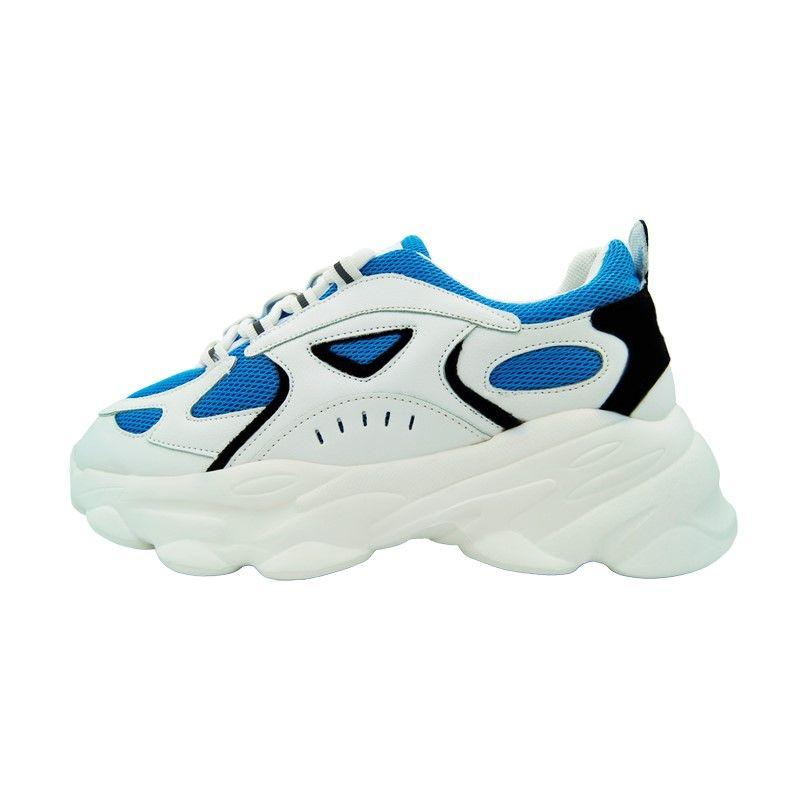 Кроссовки на толстой подошве BNB White