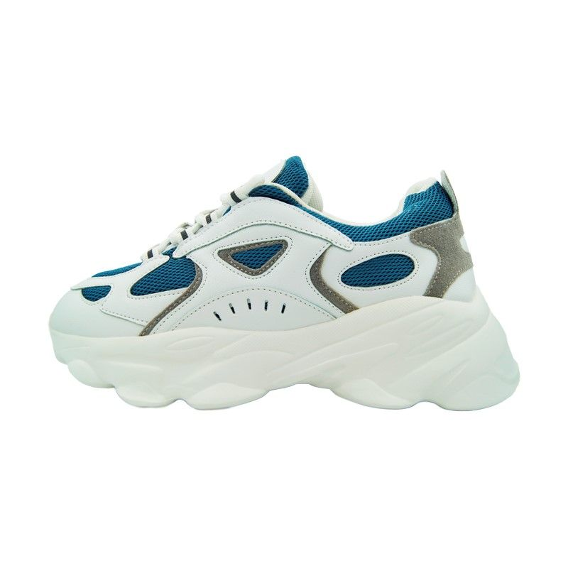 Кроссовки на толстой подошве BNB белые