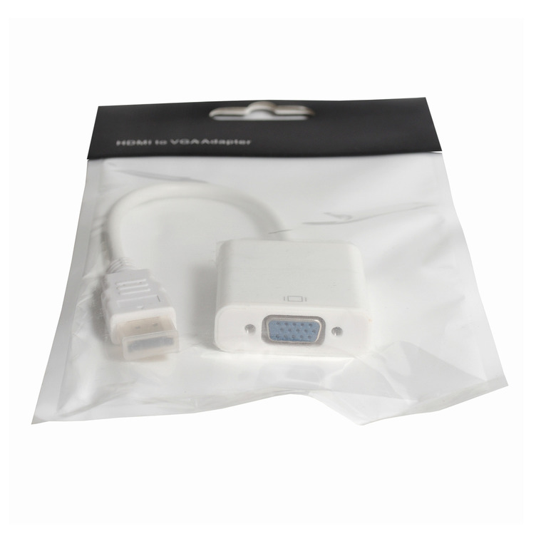 Кабель MRM OL-23 видео переходник (штекер HDMI - гнездоVGA) Белый