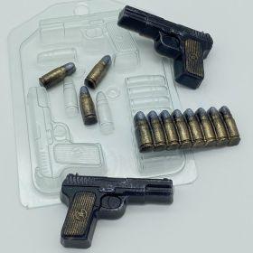 Форма пластиковая Пистолет ТТ МИНИ