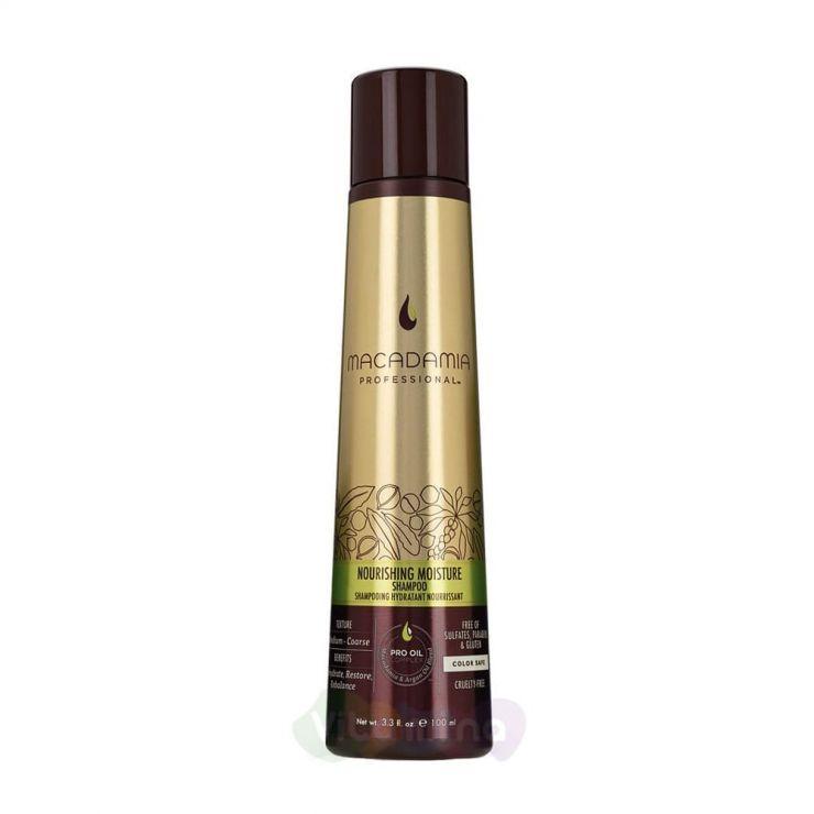 Macadamia Шампунь питательный для всех типов волос NOURISHING MOISTURE SHAMPOO, 100 мл