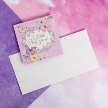 Мини‒открытка «С Днём рождения», милота, 7 × 7 см