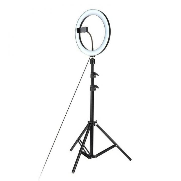 Кольцевая светодиодная лампа Beauty Fill Light CT-002 26 см