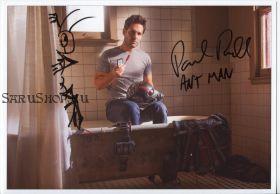 Автограф: Пол Радд. Человек-муравей