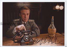 Автограф: Кристоф Вальц. Бесславные ублюдки