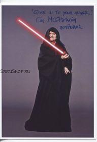 Автограф: Иен Макдермид. Звёздные войны