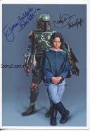 Автографы: Джереми Буллок, Дэниэл Логан. Звёздные войны. Редкость
