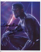 Автограф: Чедвик Боузман. Чёрная Пантера. Мстители: Война бесконечности. Редкость