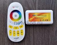 RGB+W+WW контроллер сенсорный МУЛЬТИКОЛОР 2.4G 12/24V 18A Oreol