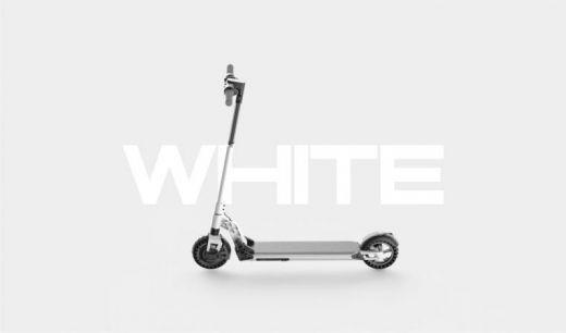 Электросамокат Kugoo S1 Plus Jilong Белый