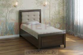 Кровать КР-1035 с мягким изголовьем