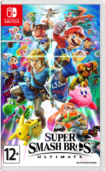 Игра Super Smash Bros. Ultimate (Nintendo Switch)