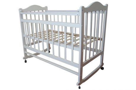 Кровать Ивашка 1 колесо и качалка