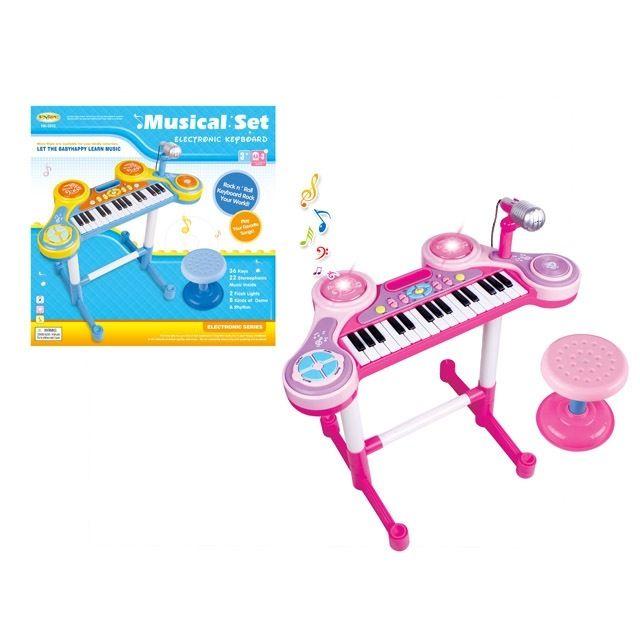 HC-3012C Детское пианино со стульчиком