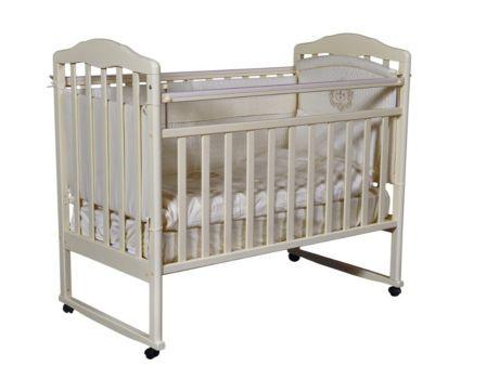 Детская кровать Кедр Helen 1 колесо, качалка