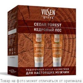 Подарочный набор косметики для мужчин CEDAR FORREST (гель-шамп.д/волос и бороды 250мл+гель-душ 250м), шт