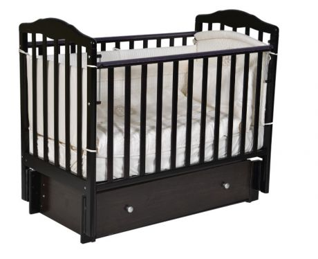 Детская кровать Кедр Helen 3 с универсальным маятником и ящиком