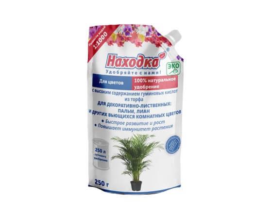 Удобрение для пальм, лиан и других лиственных цветов. Концентрат на 250 литров