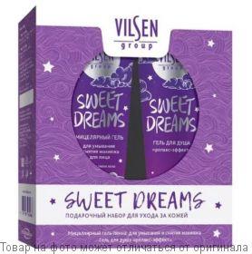Подарочный набор для ухода за кожей SWEET DREAMS (гель-душ релакс 160мл+пенка д/умыв. 160мл), шт
