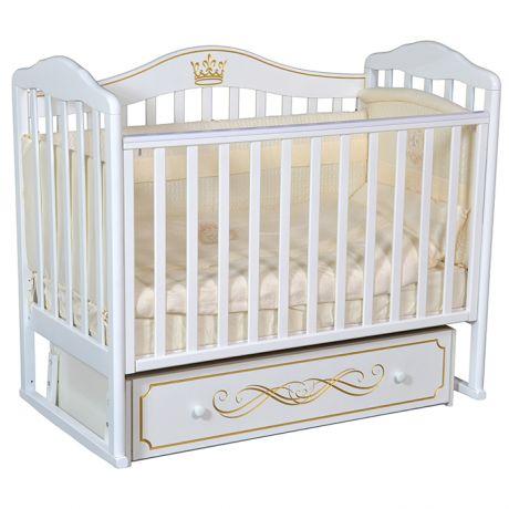 Детская кровать Кедр Helen 5 с маятником и ящиком