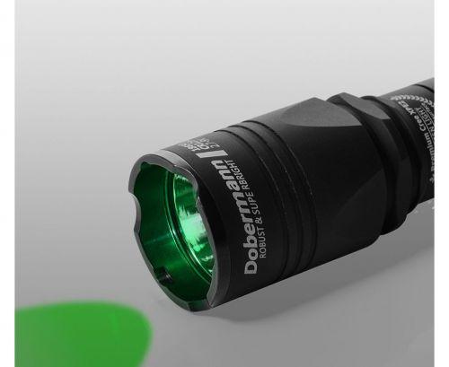 Тактический фонарь Armytek Dobermann (зелёный свет)