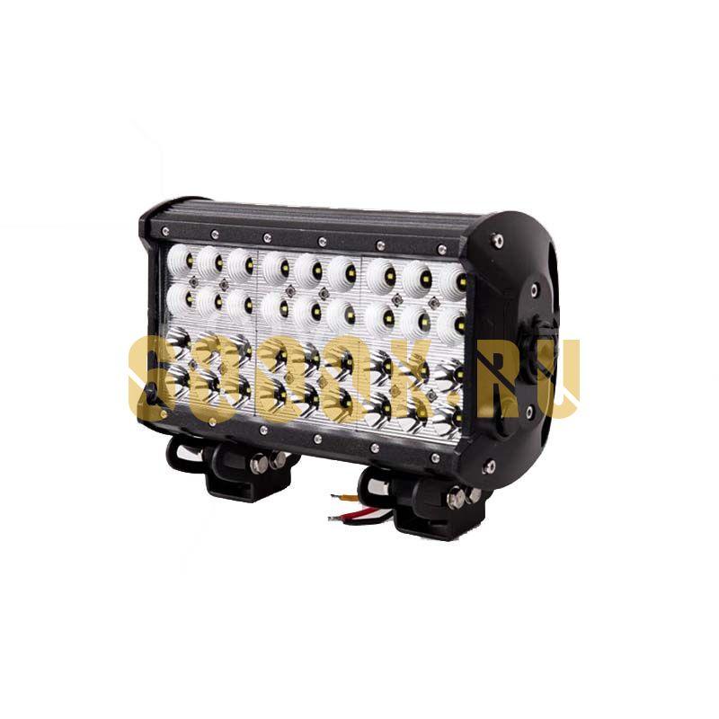 Четырехрядная светодиодная балка 108W CREE COMBO