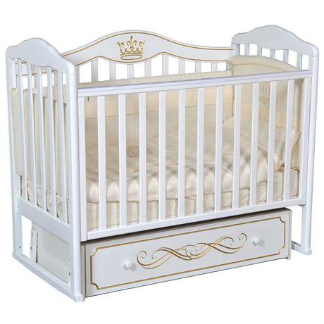 Детская кровать Кедр Helen 6 с маятником и ящиком