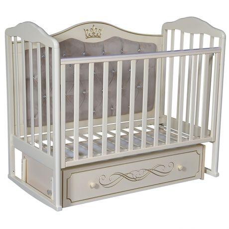 Детская кровать Кедр Helen 7 с мягкой спинкой