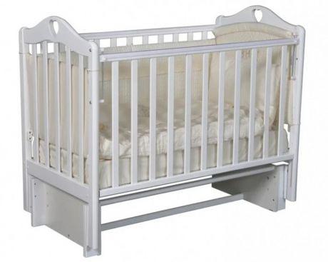 Детская кроватка Кедр Karolina 3/5 автостенка универсальный маятник