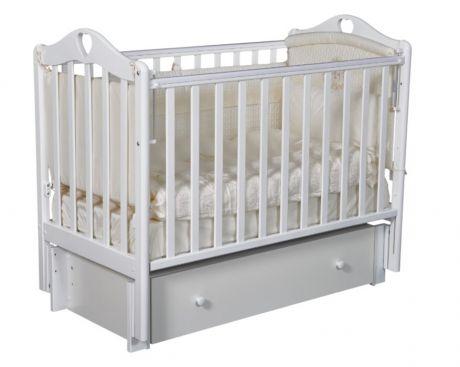Детская классическая кровать Кедр Karolina 4/6 с универсальным маятником